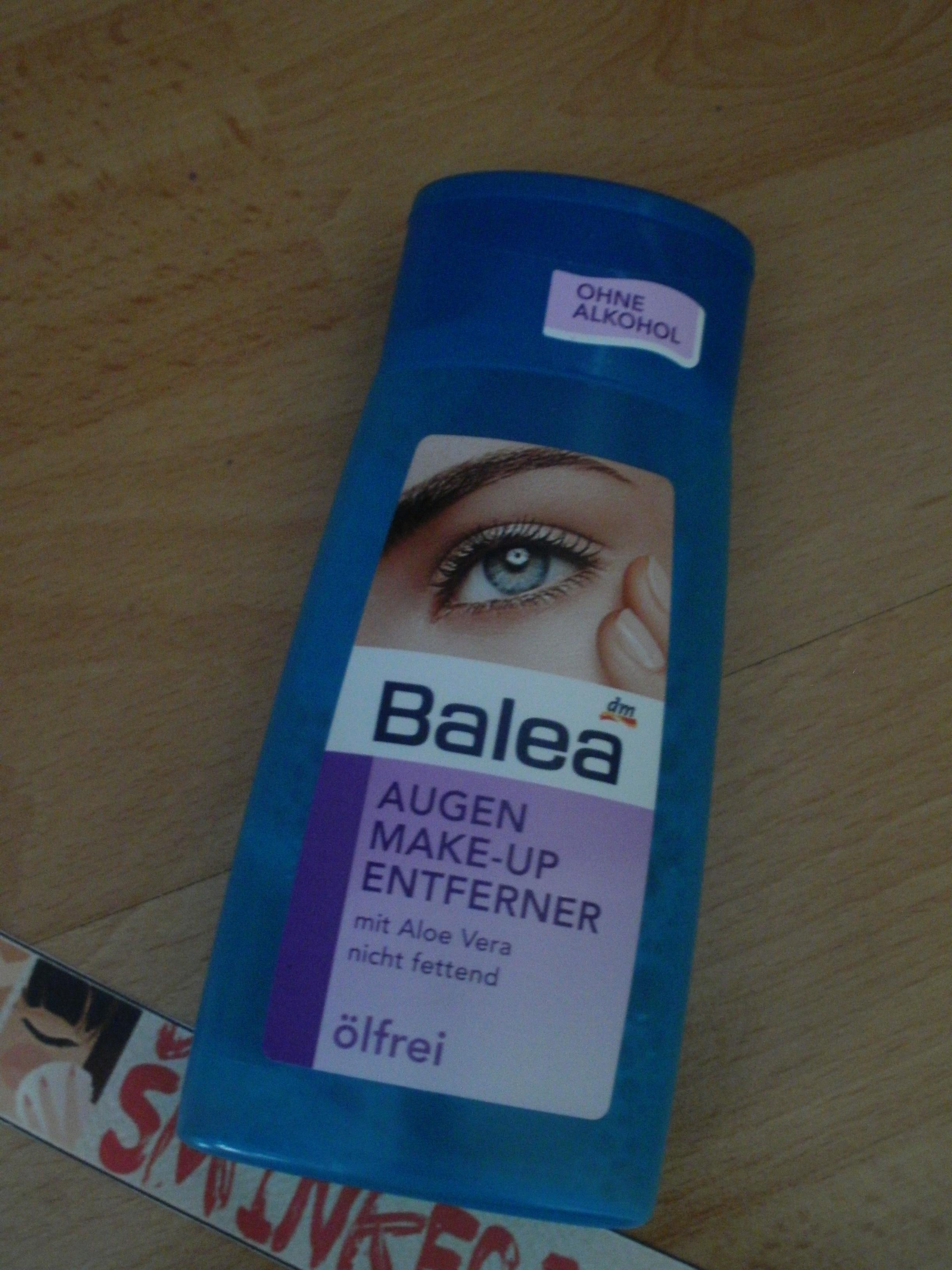 Balea i Maybelline odstranjivači šminke