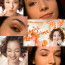 Miss tangerine make up