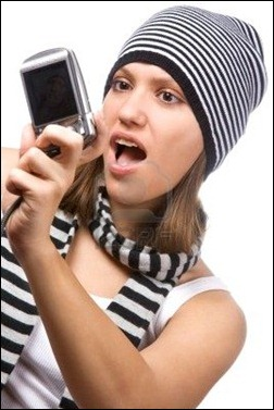 4080963-young-woman-is-photographing-himself-on-white