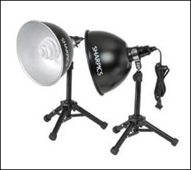 Sharp Table Top Studio Light Kit