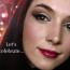 Svečani blagdanski makeup