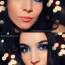 Plavi Novogodišnji makeup