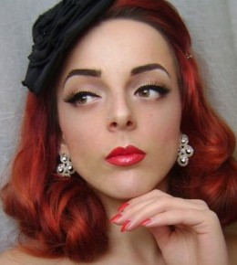 Povijest šminkanja (1950-e)