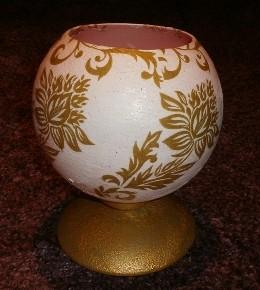 DIY decoupage: svjetiljka