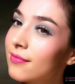 Proljetni pepermint makeup
