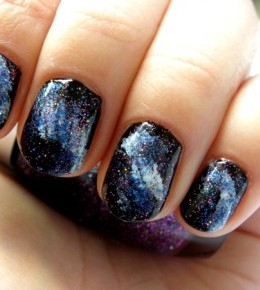 Galaxy manikura