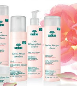 Nuxe linija za čišćenje lica s laticama ruže