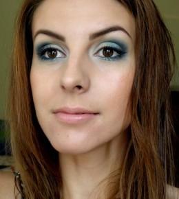 LOTD – Aqua makeup