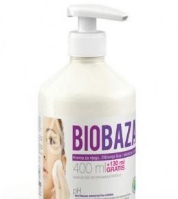 Biobaza krema za njegu, čišćenje lica i skidanje šminke