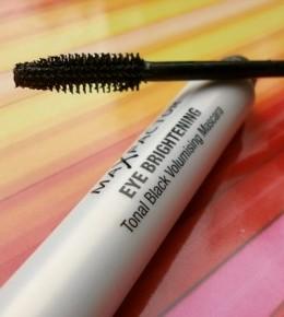 Max Factor Eye Brightening mascara for hazel eyes