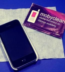 Mobyclean vlažne maramice za čišćenje mobitela + darivanje