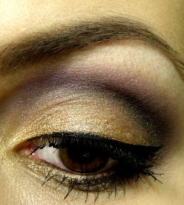 Makeup izazov 13 – Gold eyes