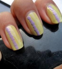 Nail art izazov – 3.dan: žuti nokti