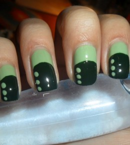 Nail art izazov – 4.dan: Zeleni nokti