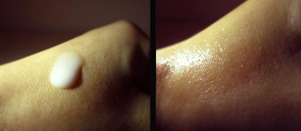 Balea Aqua serum na koži
