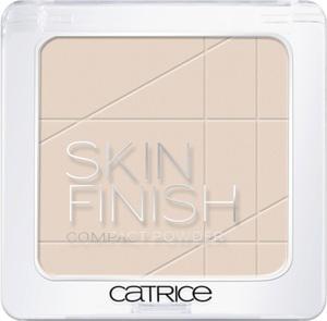 Skin finish compact powder