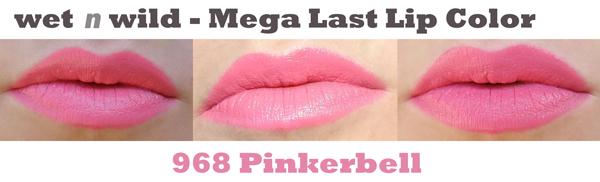 pinkerbell lip swatch