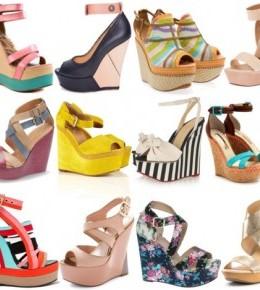 Sandale na punu petu (Wedges)