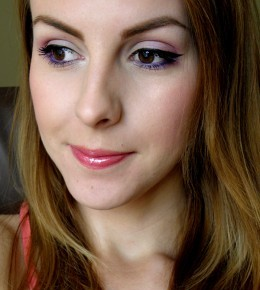 Maybelline New York Colorama coloured eyes look