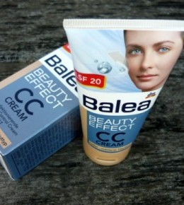 Balea Beauty Effect CC krema – recenzija