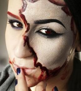 Glitter&blood inspiracija za Halloween
