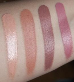 Sleek Lip 4 palette Ballet – recenzija