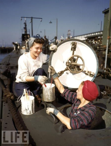 Žene koje rade na podmornici 1943.