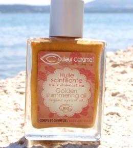 Couleur Caramel Golden shimmering oil