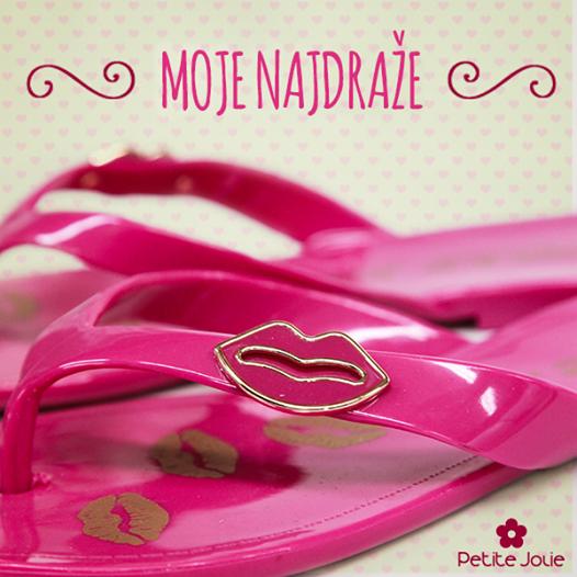Petite Jolie Kisses Pink