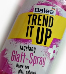 Balea Trend It Up sprej za ravnanje kose
