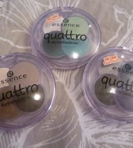 Essence Quattro Eyeshadow palete