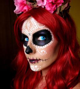 Sexy sugar skull