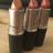 MAC ruževi: Crème d'Nude, Crème Cup i Peach Blossom