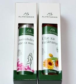 AlpStories Ulje za tuširanje & Anticelulitno ulje za masažu
