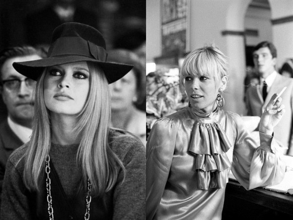 French actress Brigitte Bardot and her husband Gunther Sachs. FRANCE - 1968