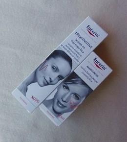 EUCERIN UltraSensitive losion za čišćenje i noćna krema protiv crvenila