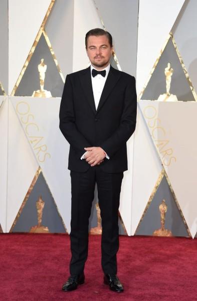 Leonardo DiCaprio Giorgio Armani