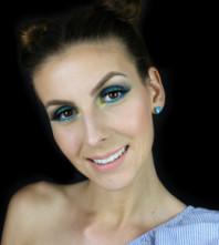 Blue Lagoon Makeup s NYX proizvodima