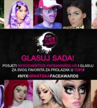 NYX Hrvatska Face Awards