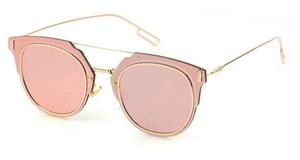 women-brand-designer-Sunglasses-metallic-frame-shades-mirror-Unique-round-glasses-thin-wire-Glasses-test1