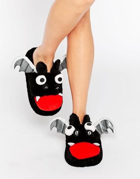 ASOS NIGHTMARE Halloween Bat Slippers
