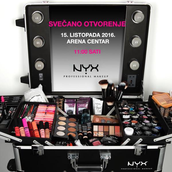 NYX otvorenje vizual
