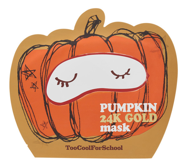 Too cool for school - Pumpkin 24K Gold Mask