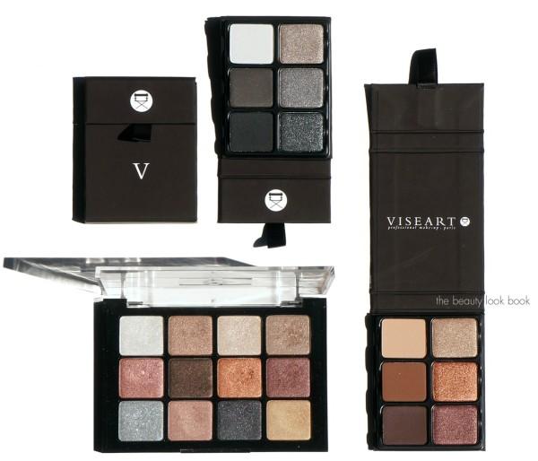 Viseart palettes - eyeshadows