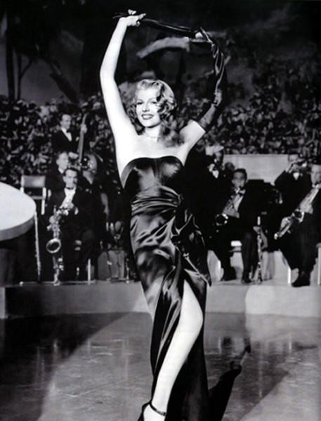 Rita Hayworth + Jean Louis + Gilda