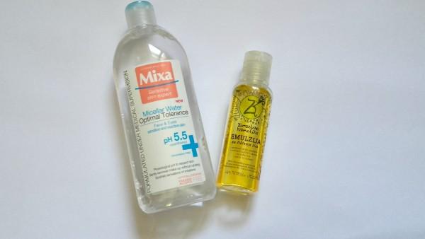 mixa micellar water zimzelena kozmetika emulzija za čišćenje lica