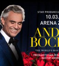 U prodaju puštene dodatne ulaznice za koncert Andree Bocellija
