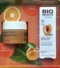 Bio-Beauté by Nuxe maska za lice i balzam za usne