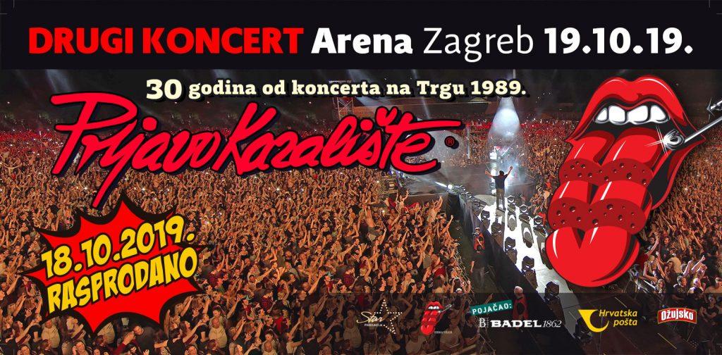 Prljavo Kazalište rasprodalo Arenu Zagreb, najavljen i drugi koncert.